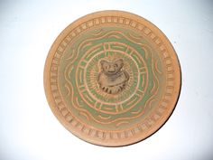 Maya terracotta dish 1
