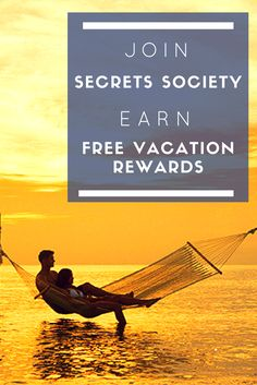 Learn how you can join Secrets Resorts & Spas' Secrets Society, the perfect way to earn points toward free vacation rewards!