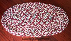 diy home sweet home: DIY Rag Rug