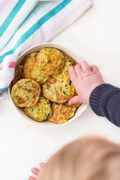 Zucchini Bites (courgette bites) are a high protein kids snack with a little veggie goodness. Delicious both hot and cold and loved by kids and adults.