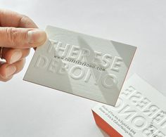 Check out these beautiful embossed double sided business cards with painted edges. We have produced them for documentary photographer. Embossed Business Cards, Order Business Cards, Double Sided Business Cards, Letterpress Business Cards, Business Card Mock Up, Letterpress Printing, Photographer Business Cards, Visiting Card Design, Business Card Design Inspiration