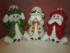 Felt Christmas, Christmas Snowman, Christmas Humor, Xmas, Christmas Ornaments, Snowman Crafts, Felt Crafts, Diy And Crafts, Dexter