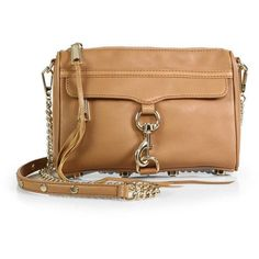 Rebecca Minkoff Mini MAC Convertible Crossbody Bag (1.745 NOK) ❤ liked on Polyvore featuring bags, handbags, shoulder bags, apparel & accessories, chain strap shoulder bag, leather crossbody handbags, leather shoulder handbags, crossbody purse et leather crossbody purse
