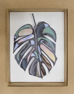Leaf collage by Bruche Ingram