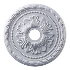 lighttrends - medallioin: ELK Lighting Corinthian Medallion 22 Inch In White Finish M1005WH