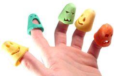 Pâtadoigts, nouilles pour enfants. Design Julie Rothhahn. Présenté au SIAL en 2004.