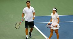 US Open: Ross Hutchins and Chan Yung-jan lose in semi-finals of mixed doubles