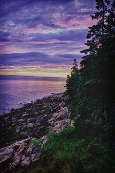 ✮ Acadian Coastline - Maine.  Loved the Maine coastline. We spent hours watching sunrises/sunsets.