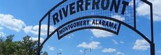 Riverfront Park - Montgomery, AL.  Anchored by the Amphitheatre, the Harriott II Riverboat, and the historic Union Station Train Shed, Riverfront Park is an entertainment destination on the banks of the Alabama River. Riverboat rides, events, concerts, baseball in Riverwalk Stadium and access to the river via a boat ramp make this park a fun and exciting place for people of all ages.  DETAILS:  Amphitheatre, splash pad, train shed, riverboat