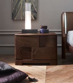 SMA Genesis Bedside Cabinet | Low Bedside Drawers | Robinsons Beds ...