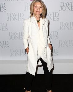 Carla Zampatti attends the David Jones S/S 2012/13 Season Launch in Sydney.
