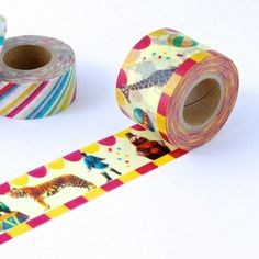 Circus - Washi Tape Cutie from omiyage.ca  masté, the colorful and vivid masking tape brand by MARK'S Tokyo Edge
