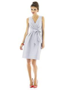 Alfred Sung D595 Bridesmaid Dress | Weddington Way