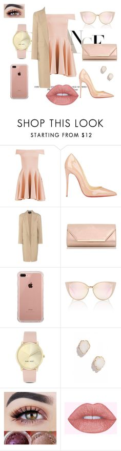 """""""Royal"""" by demy14love on Polyvore featuring Boohoo, Christian Louboutin, Alexander Wang, Dorothy Perkins, Belkin, Nine West and Kendra Scott"""