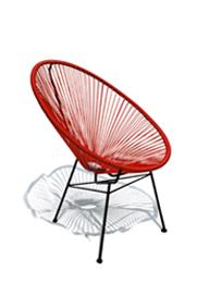 Red Acapulco Chair