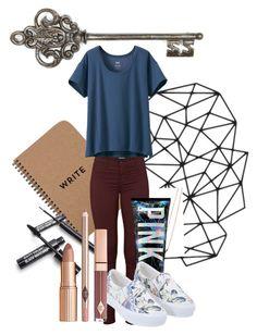 The key to success by kaymoyascott on Polyvore featuring polyvore fashion style Uniqlo J Brand Michael Kors women's clothing women's fashion women female woman misses juniors