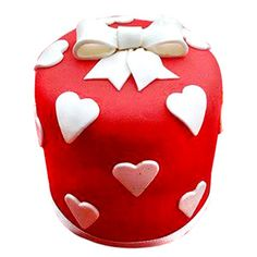 Sprinkle Sweetness, pack your heart and deliver it to the most beautiful person in your life. http://www.tajonline.com/valentines-day-gifts/product/v3452/heart-gift-cake/?Aff=pint2015/