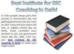 Get best institute for SSC coaching in Delhi by Proud Shala. With experts tips and practical knowledge http://proudshala.com/ssc-cgl-coaching-in-pitampura-delhi.html