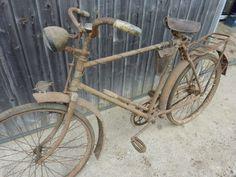 Altes Miele Oldtimer Fahrrad