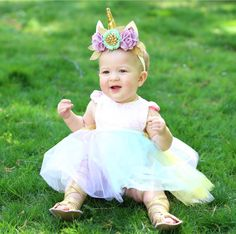 A Magical Unicorn Sparkle Romper