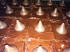 I Love Hershey Kisses Brownies  Dreaming of White Chocolate