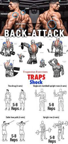 Traps Extension Exercises Traps Extension Exercises Traps Workout Weight Training Workouts Exercise