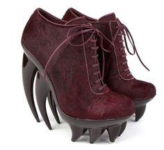 Iris van Herpen x United Nude 'Fang' Haute Couture Shoes