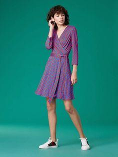 7da47199d8 Diane von Furstenberg The Irina Silk Jersey Dress Vermillion Red, Diane Von  Furstenberg, Medium