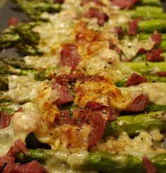 Roasted Asparagus With Pancetta