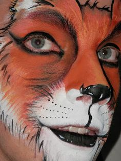 fantastic mr fox face paint - Google Search