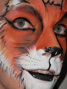 fantastic mr fox face paint - Google Search