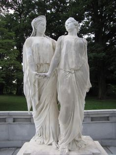 Cave Hill Cemetery, Louisville, Kentucky. The Caldwell Sisters.