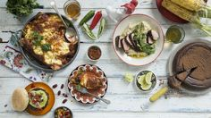 Add a little South American flair to your next dinner party! Some inventive decor and exotic home-made dishes are just what you need for a fabulous fiesta. Mexican Dinner Party, Homemade, Dishes, Cooking, Breakfast, Kitchen, Creative Industries, Recipes, Platform