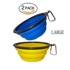 Blue 8-quart Fortiflex Flat Back Feed Bucket For Dogs/cats And Small Animals