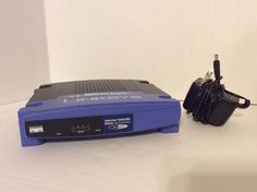 LINKSYS BEFSR41 EtherFast Cable/DSL Router with 4-Port Switch #Linksys