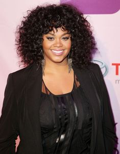 Jill Scott Medium Curls  Jill Scott wore her gorgeous tresses with loads of volume and bounce at Black Girls Rock 2011. Her hair was ultra shiny and oh-so-pretty paired with muted shades of makeup.