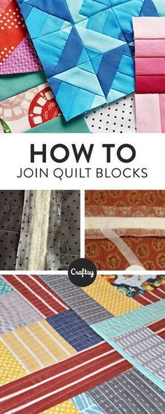 If you're using a small home sewing machine, the quilt as you go method can be a real life saver. Learn how to achieve those beautiful motif quilts by joining your finished quilt blocks.