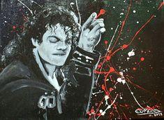 'King of Pop' von Edmond Marinkovic bei artflakes.com als Poster oder Kunstdruck $17.08