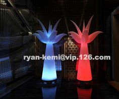 460.00$  Watch now - http://alinev.worldwells.pw/go.php?t=32588211648 - Color changing LED lighting inflatable tulip decorative Inflatable flower for decoration 460.00$