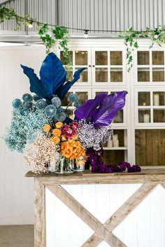 Polka Dot Wedding, Floral Wedding, Wedding Flowers, Wedding Arrangements, Floral Arrangements, Floral Bouquets, Floral Wreath, Floral Backdrop, Rainbow Wedding