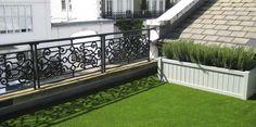 Pasto sintético para terraza