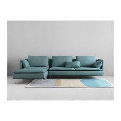 Ikea SÖDERHAMN , ovaj model bi stavili u dnevni boravak ako nije prevelika za taj prostor. Boja nije bitna.