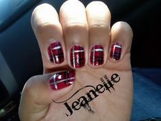 One of my Nail Arts I did for Halloween  ~JS