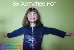 6 activities for crossing the midline and why it's important for all kids.