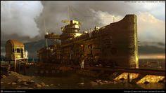 Steampunk schedule from Marco Rolandi [Marco Rolandi] High Fantasy, Sci Fi Fantasy, Steam Art, Steam Punk, Steampunk Artwork, Horror Themes, Fantasy Places, Alternate History, The Secret History
