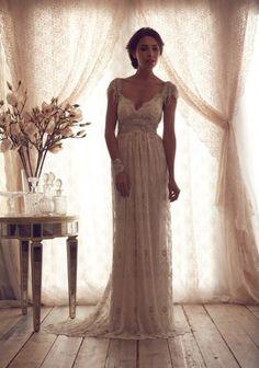 Vestido de noiva vintage. Muito eu!