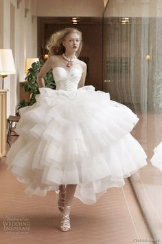 :.Cinderella running.:   Atelier Aimée Wedding Dresses 2012