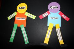 Cain and Abel lesson this week