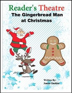 """FREE LANGUAGE ARTS LESSON – """"Christmas Play Readers' Theater: The Gingerbread Man"""" - Go to The Best of Teacher Entrepreneurs for this and hundreds of free lessons. 1st - 2nd Grade  #FreeLesson  #LanguageArts  #Christmas  http://thebestofteacherentrepreneursmarketingcooperative.net/free-language-arts-lesson-christmas-play-readers-theater-the-gingerbread-man/"""