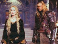 Éowyn & Éomer- sister and brother.